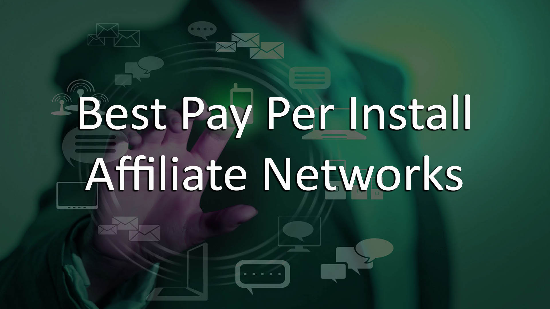 pay per install affiliate network