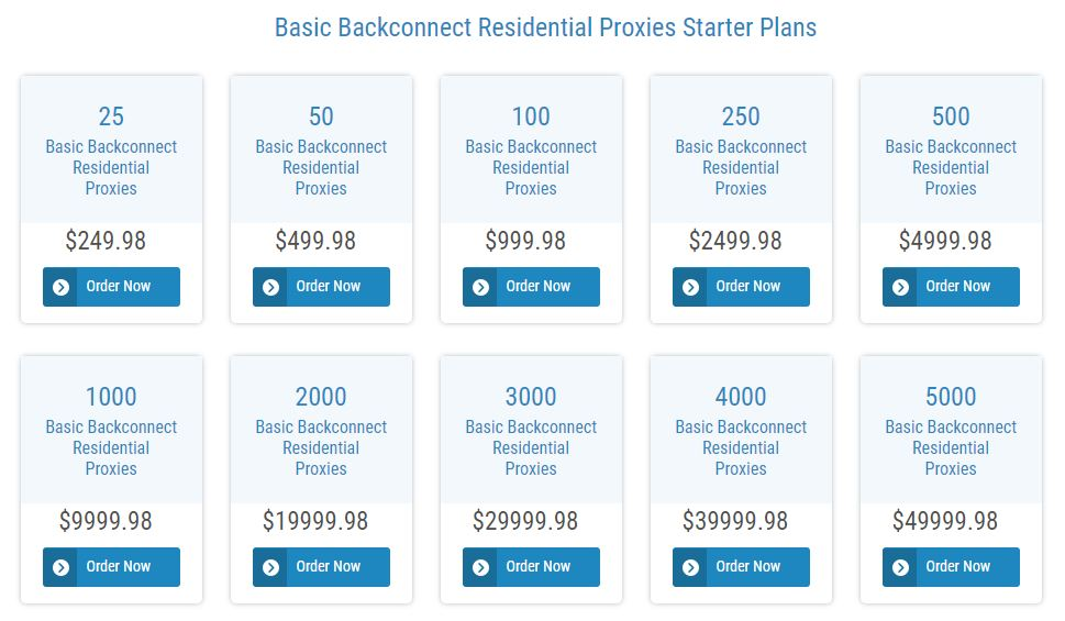 backconnect plans
